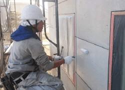 安田塗装店の塗り替え工事 施工中