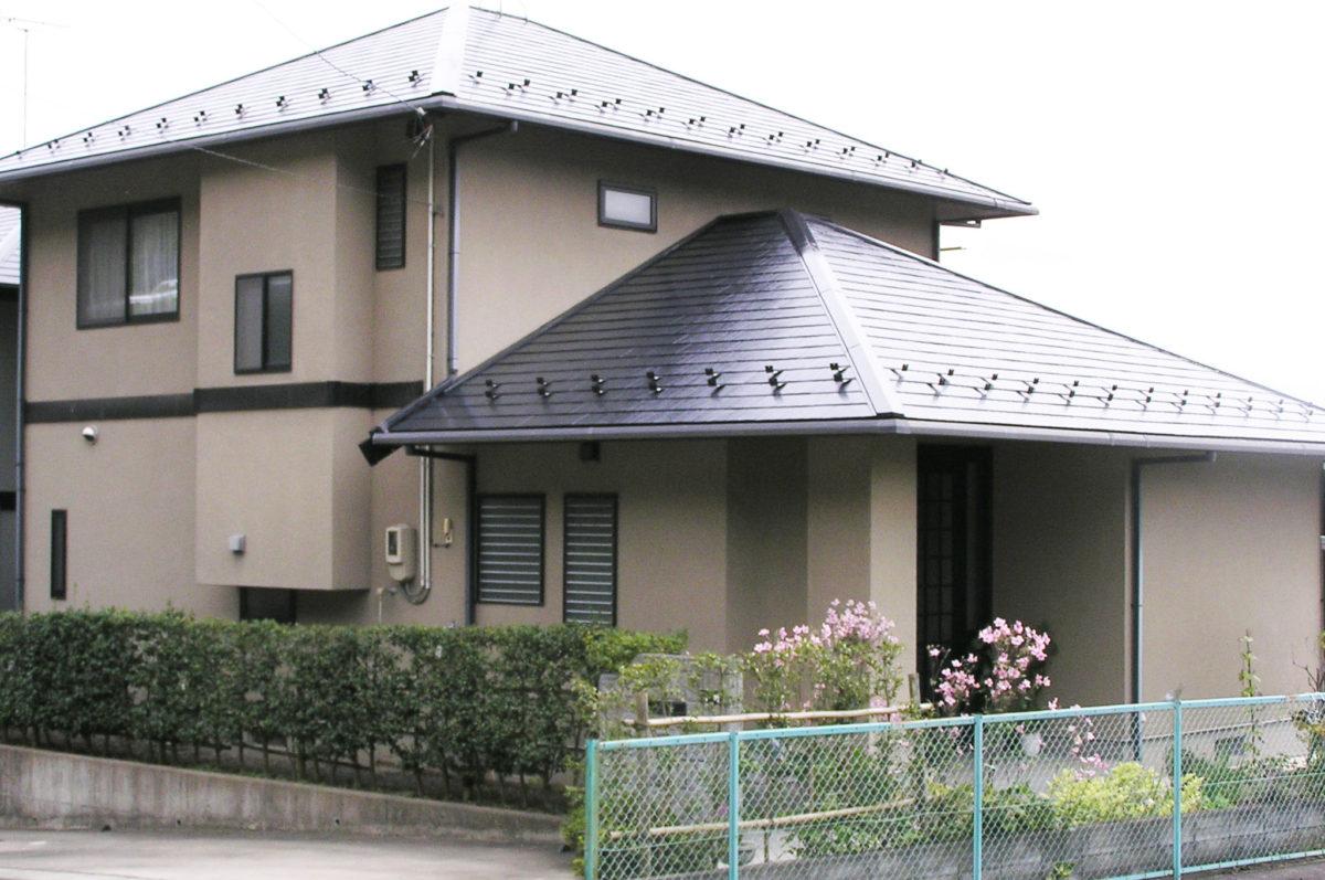 福島市外壁塗装施工事例4